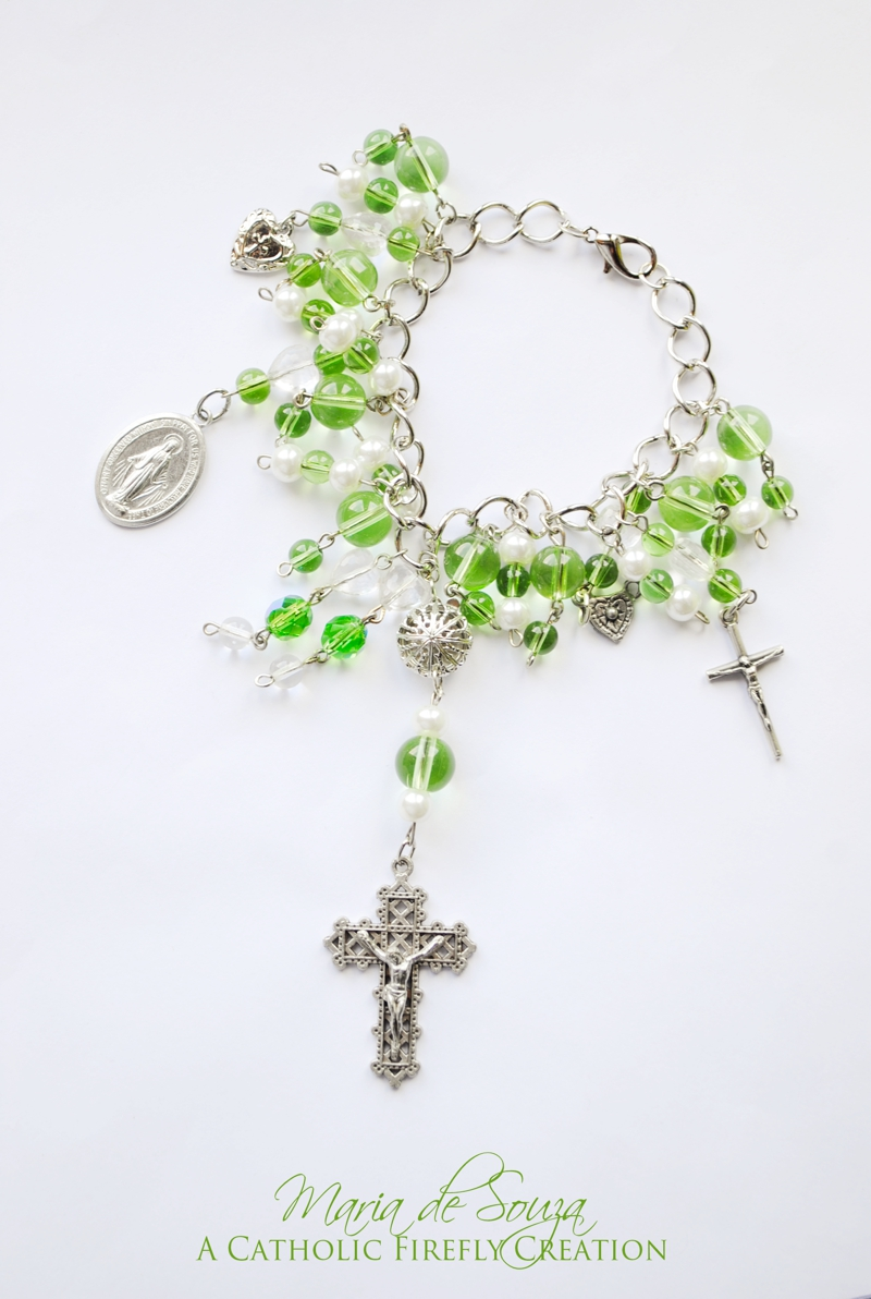 greencrucifixionbracelet